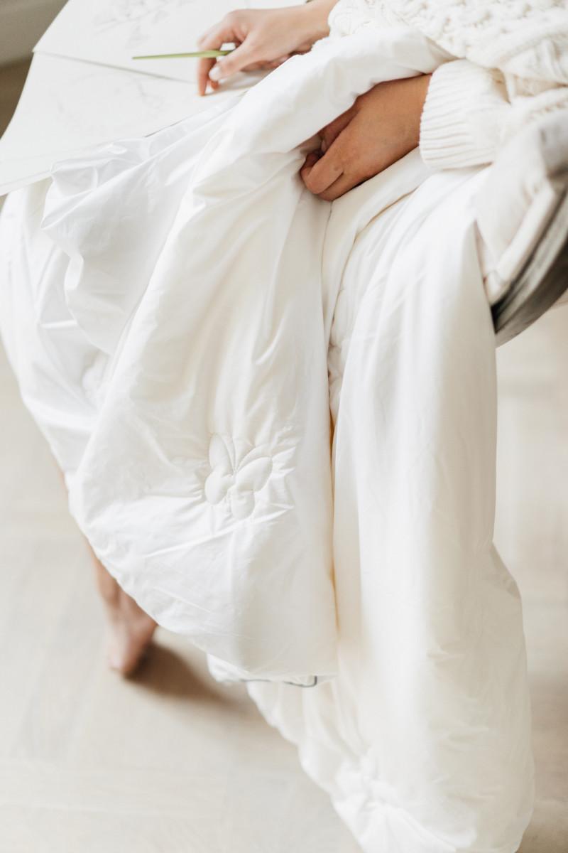 """Шелковое одеяло """"Premium"""", ткань чехла батист (Австрия)"""