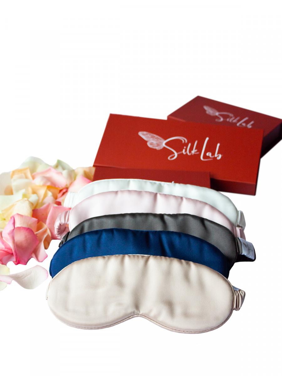 Шелковая бьюти маска для сна 16 момми (8,5см на 20,5 см)