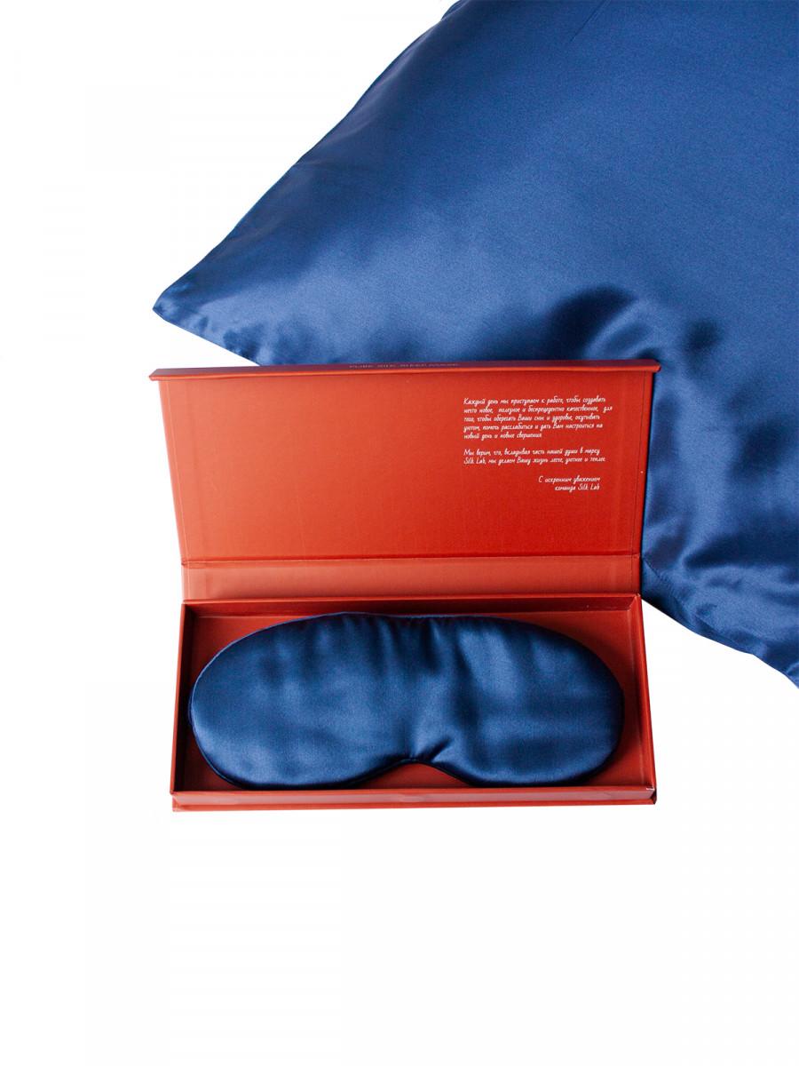 Шелковая бьюти маска для сна 22 момми (8,5см на 20,5 см)